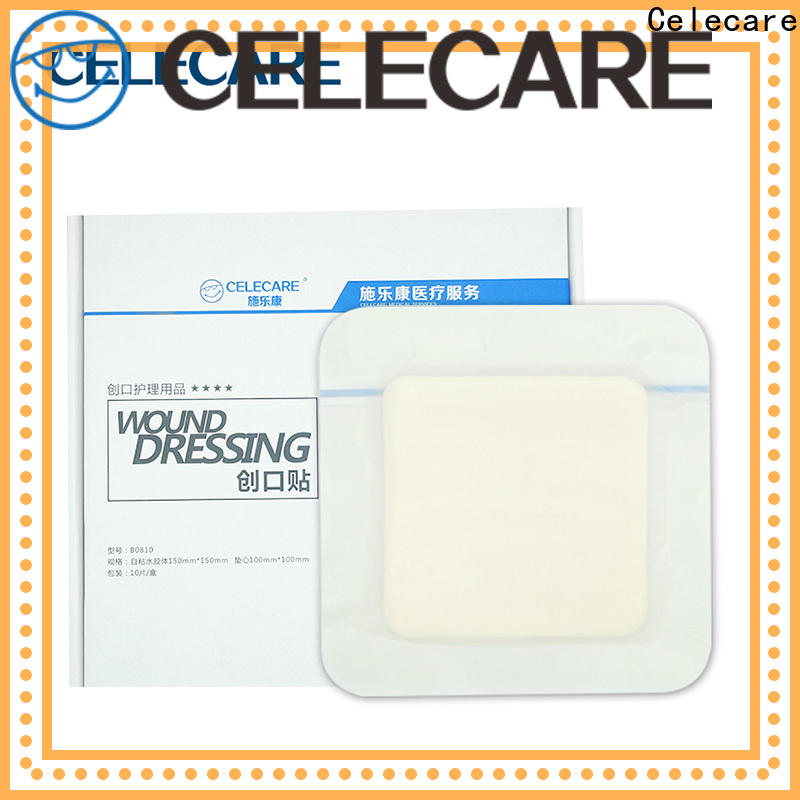 Celecare professional foam dressing series for scar