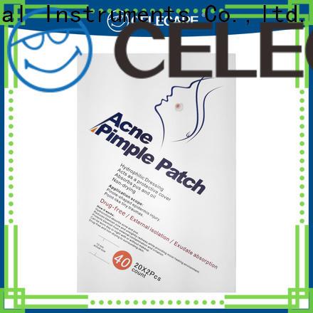 Celecare durable acne plasters supplier for men