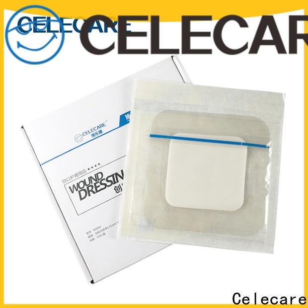 Celecare hypoallergenic wound dressing manufacturer for scar