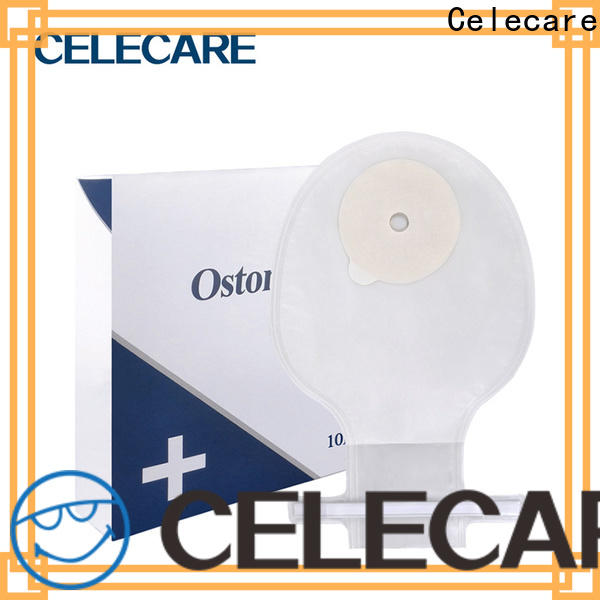 Celecare durable bowel cancer stoma bag from China for people with colostomy