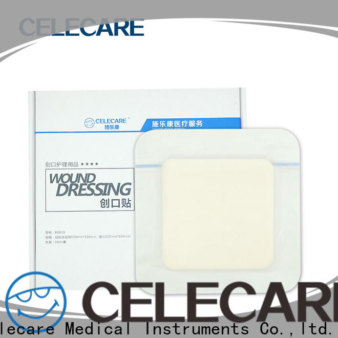 Celecare moist wound healing dressing suppliers for scar