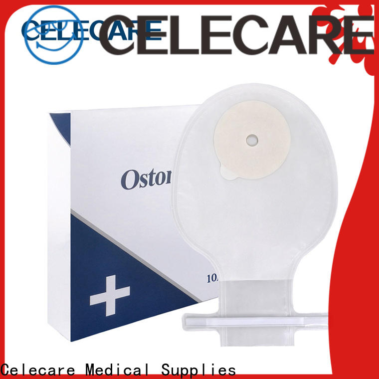 Celecare different types of ostomy bags supply for hospital