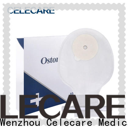 Celecare two-piece ostomy bags supplier for people with colostomy