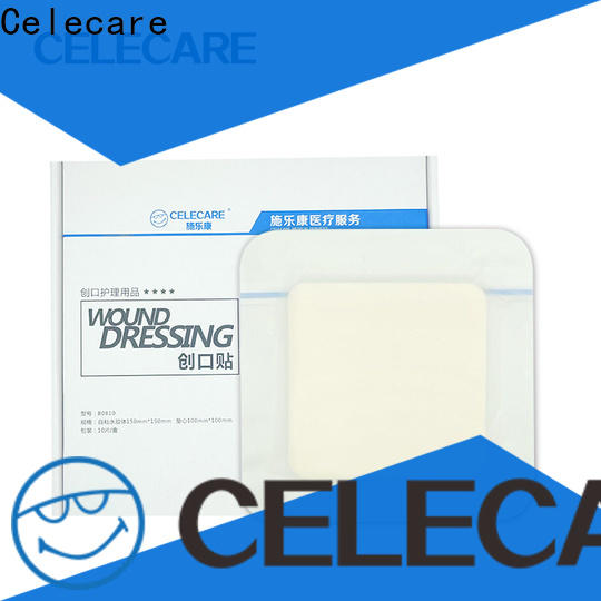 odm adhesive wound dressing supplier for injuried skin