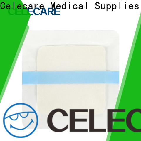 Celecare hot selling wound dressing alginate wholesale for recovery