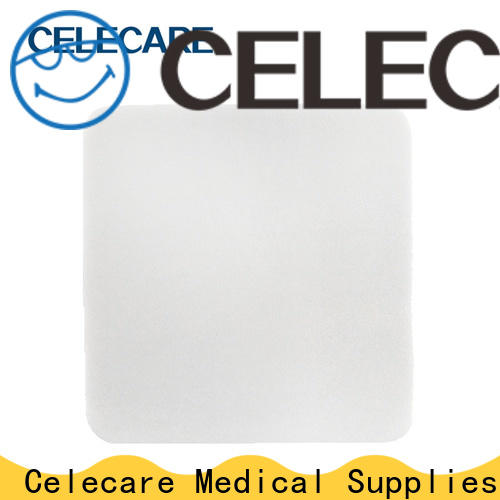 Celecare top quality foam dressing best manufacturer for recovery