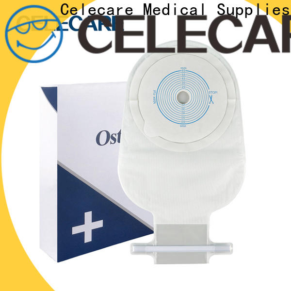 Celecare colostomy bag supplies company for people with ileostomy