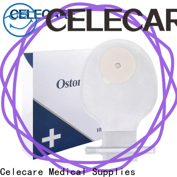 Celecare colostomy drainable pouch supplier for patients