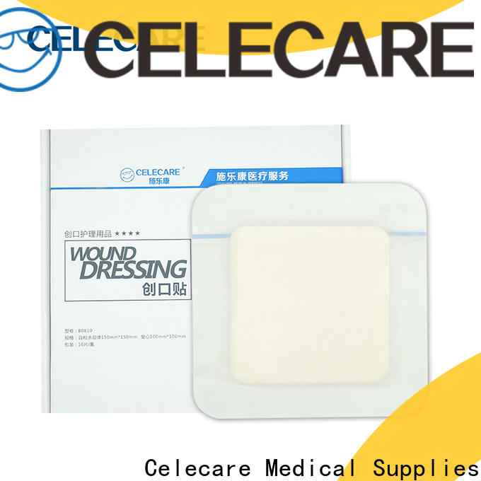 Celecare best silver wound dressing factory for injuried skin