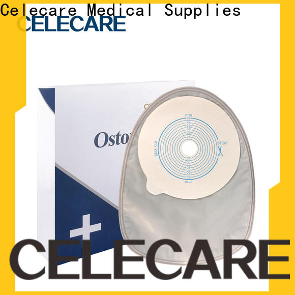 Celecare colostomy pouch series for patients
