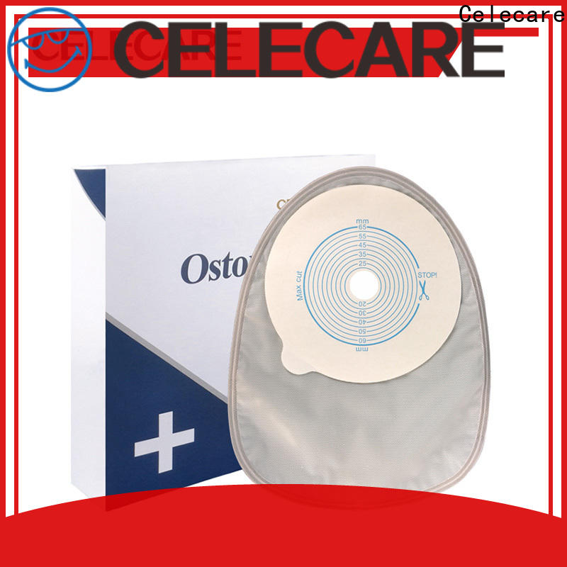 Celecare colostomy bag parts from China for patients
