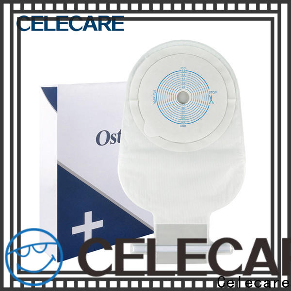 Celecare practical dansac ostomy products series for people with colostomy