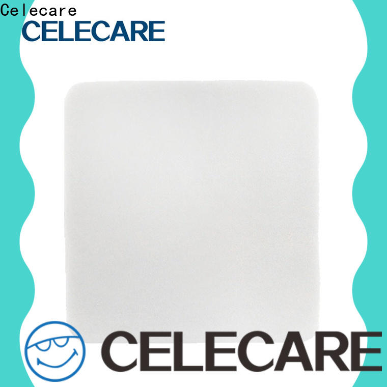 Celecare wound dressing with silver supply for recovery