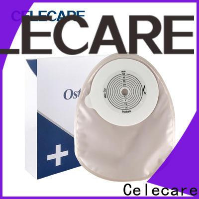 Celecare bowel cancer stoma bag supplier for people with colostomy
