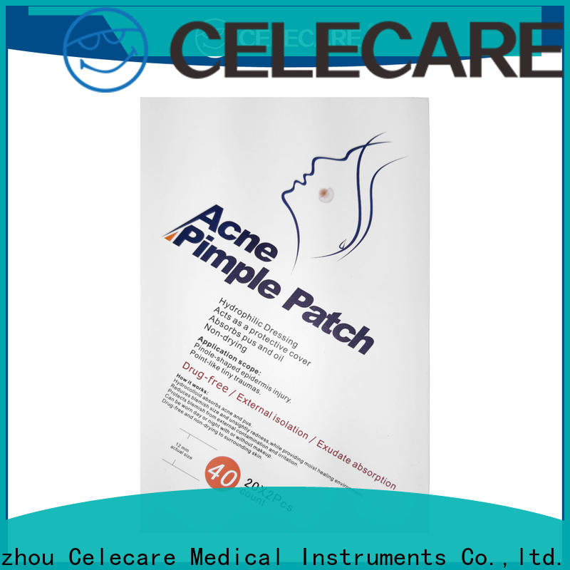 Celecare hydrocolloid pads acne from China for adult