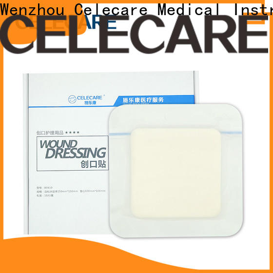 Celecare first aid wound dressing factory direct supply for scratch