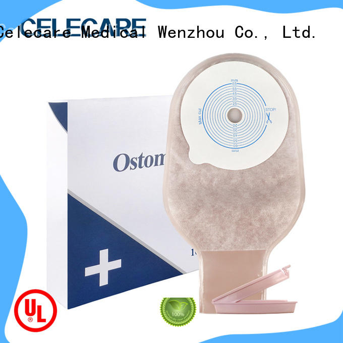 Celecare colostomy bag change video directly sale for medical use