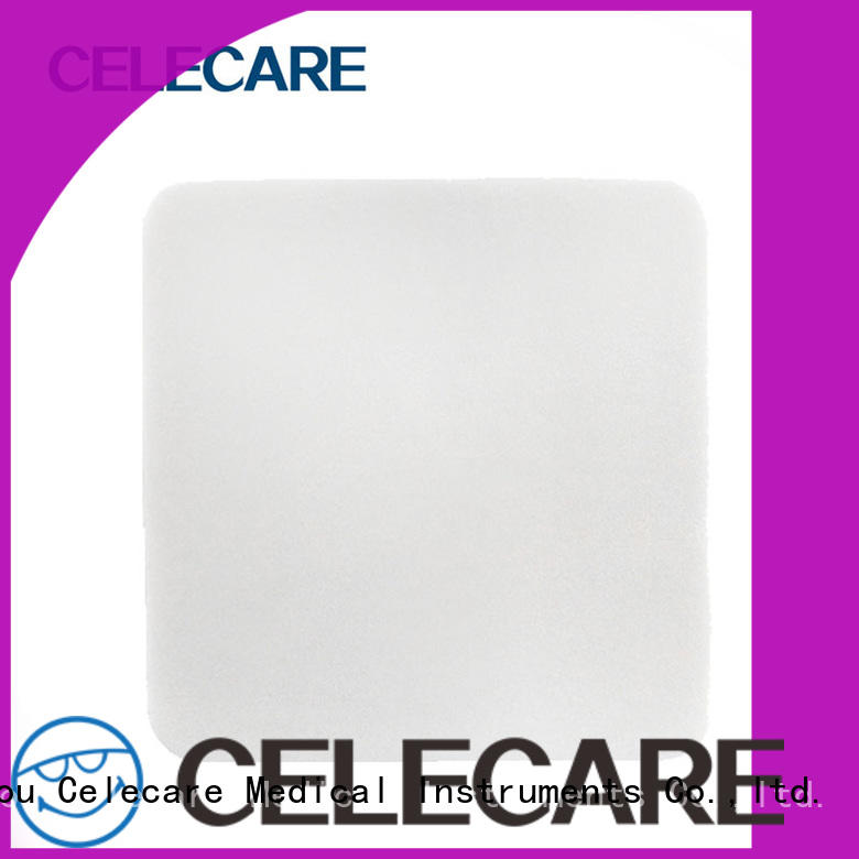 Celecare non-adhesive foam dressing inquire now for scratch