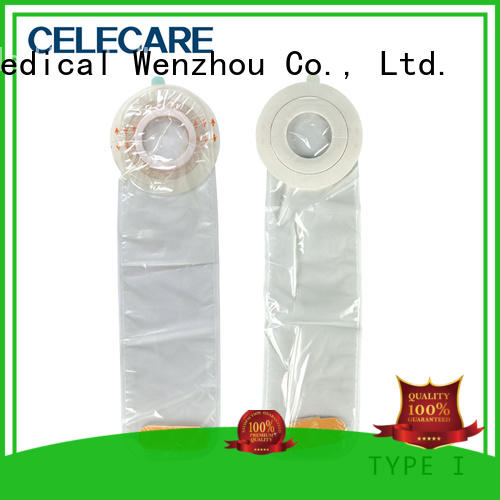 Celecare dialysis catheter cover for the shower without corrosive for excreta collection