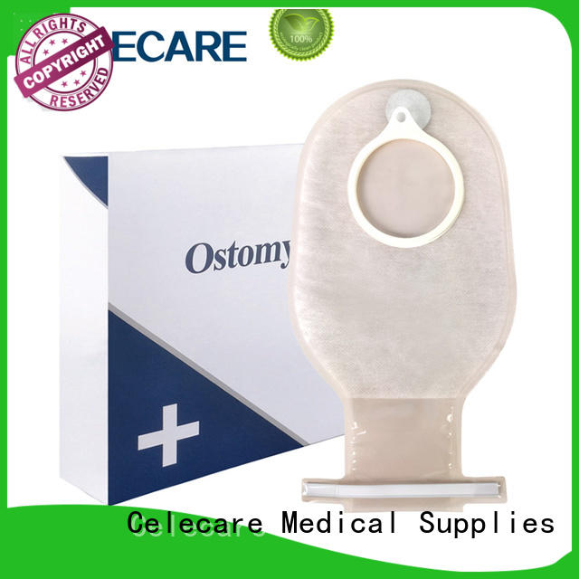 Celecare safety colposcopy bag manufacturer for people with colostomy