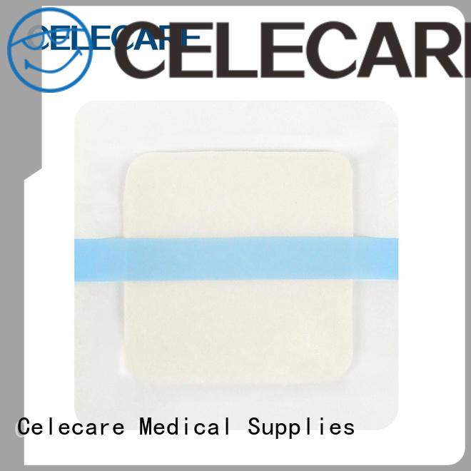 Celecare alginate foam dressing supply for scar