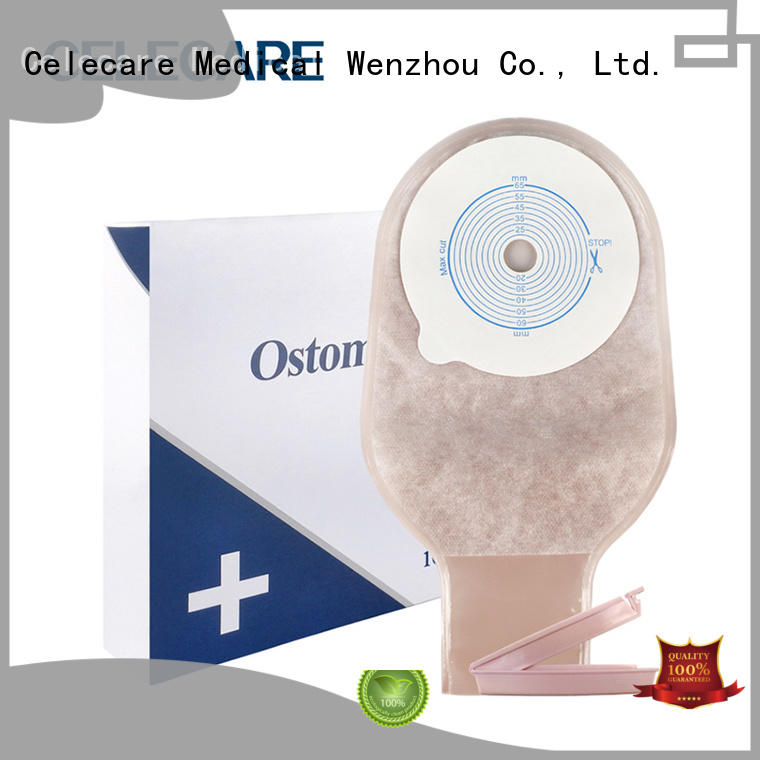 Celecare experienced hollister ostomy bags wholesale for people with colostomy