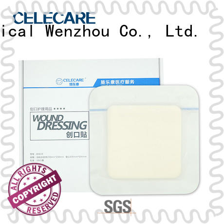safety wound dressing with silver factory price for scratch