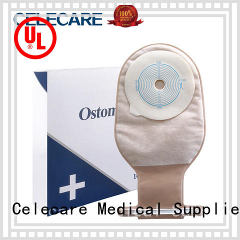 Celecare colostomy bag care manufacturer for people with colostomy