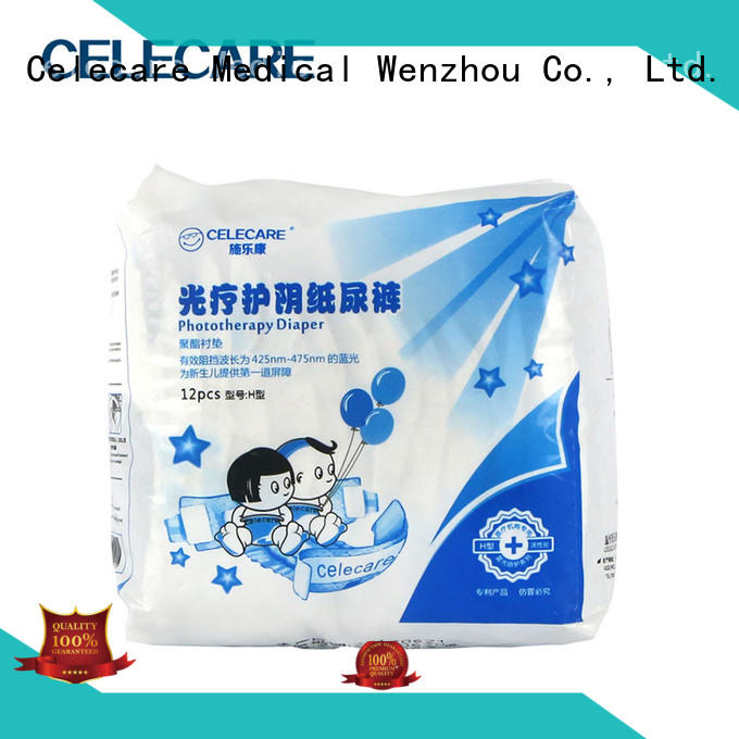 Celecare newborn baby diapers wholesale for hemolytic disorder