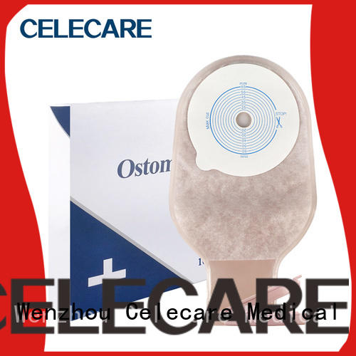 Celecare oem disposable ostomy pouches factory for people with ileostomy