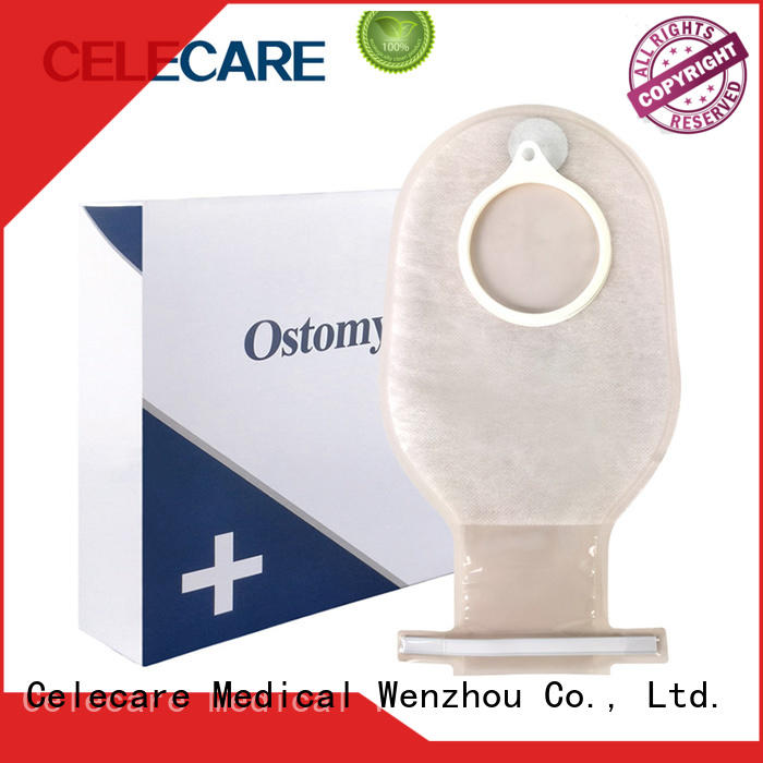 Celecare safety convatec ostomy bags easy to use for people with ileostomy