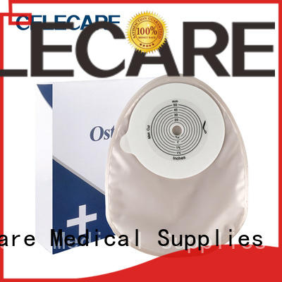 Celecare colposcopy bag supplier for people with colostomy