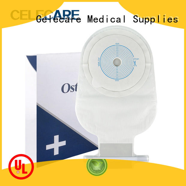 One-piece open ostomy bag, stoma colostomy bag - A003