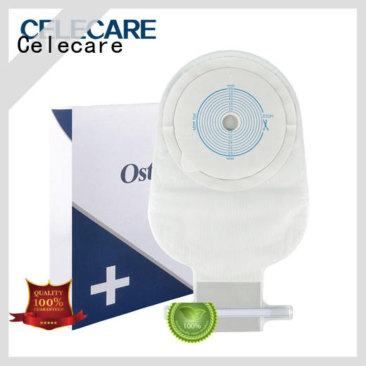 Celecare online emptying colostomy bag supplier for people with colostomy