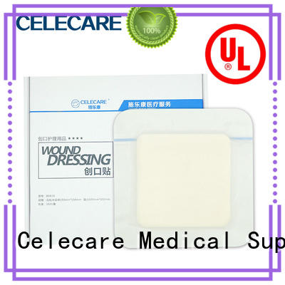 Celecare safety wound dressing collagen supplier for scratch