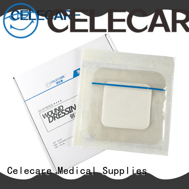 Celecare durable self-adhesive wound dressing directly sale for injuried skin