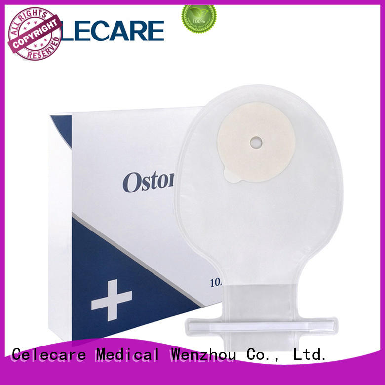 Celecare stoma pouch wholesale for medical use