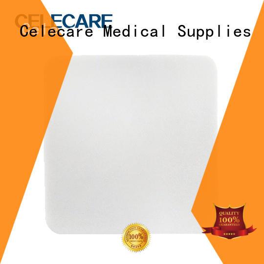 Celecare high quality calcium alginate wound dressing customized for wound