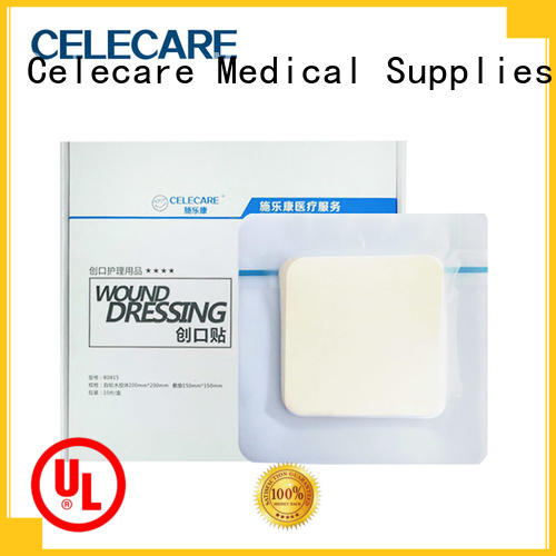 Celecare high quality hydrophilic wound dressing series for recovery