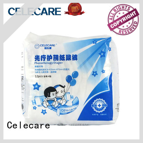 Celecare safety medical grade diapers series with convenience