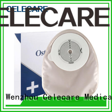 Celecare odm colostomy bag stoma manufacturer for people with ileostomy