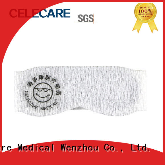Celecare phototherapy eye mask customized for primary infants