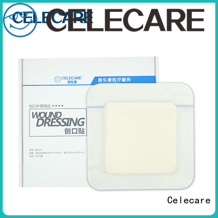 Celecare best price pressure ulcer wound dressing from China for wound