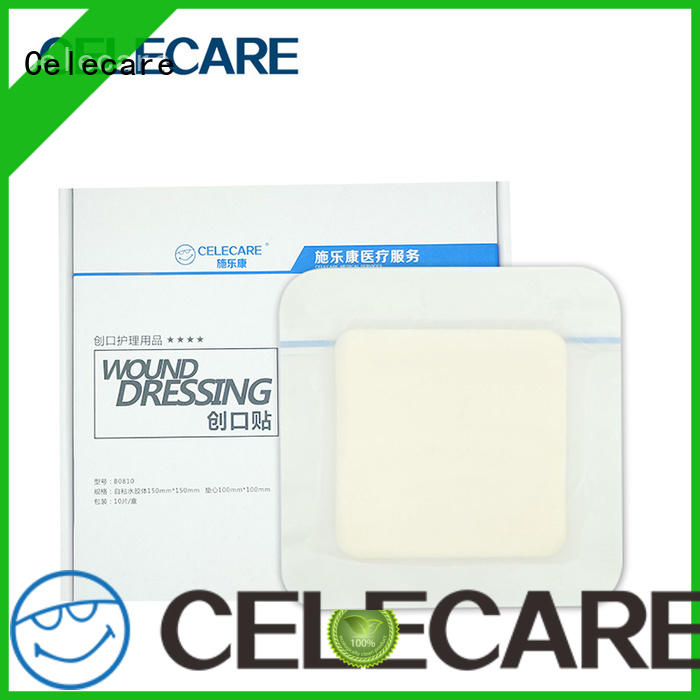 Celecare water-proof wound dressing collagen factory price for scar