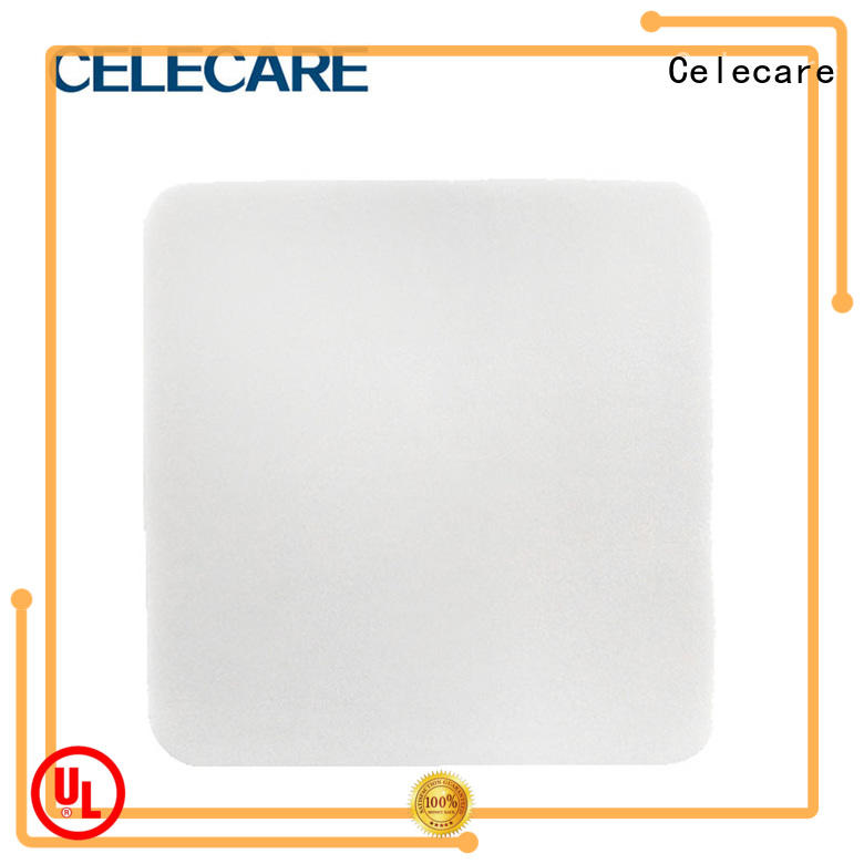 Celecare water-proof wound dressing alginate wholesale for scratch
