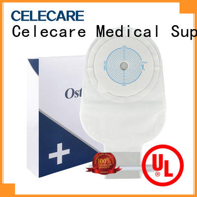 Celecare colposcopy bag easy to use for people with colostomy