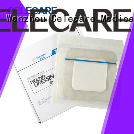 Celecare wound dressings manufacturer for recovery