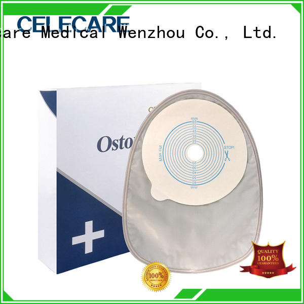 professional convatec ostomy bags factory price for people with ileostomy