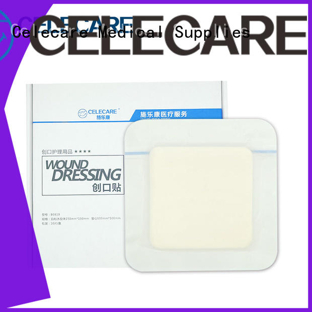 Celecare hot selling wound dressing adhesive directly sale for scar