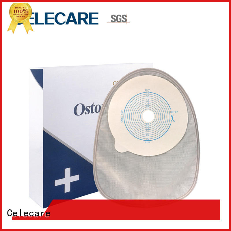 Celecare comfortable poop bag medical manufacturer for people with ileostomy